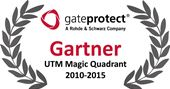 Another accolade from Gartner: gateprotect listed in the Magic Quadrant for UTM Firewalls