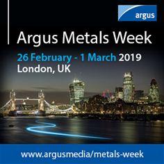 Argus Metals Week 2019