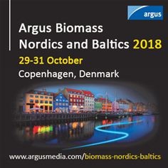 Argus Biomass Nordics and Baltics 2018, Copenhagen, Denmark