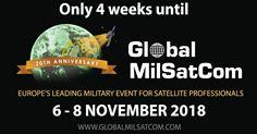 4 Weeks to go until Global MilSatCom