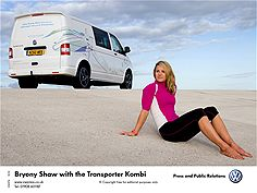 Bryony Shaw and the Volkswagen Transporter