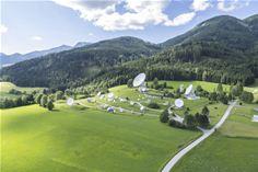 Teleport with uplink in Aflenz, Austria