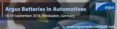 Argus Batteries in Automotives 2018