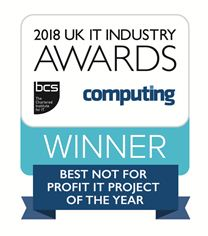Best Not For Profit IT Project of the Year Winners logo