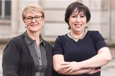 Bluebird's Leanne Bentley and Jayne Smith