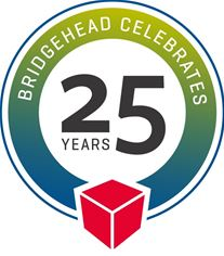 BridgeHead 25th Anniversary logo