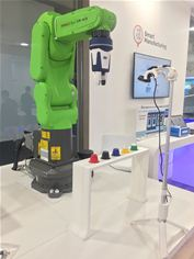 "The ""FANUC CR-4iA"" 'Cobot'"