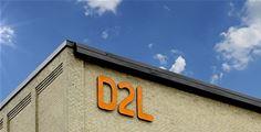 D2L on a building