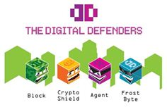 The Digital Defenders logo