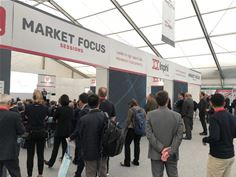 Crowds at the ECOC 2019 Market Focus sessions