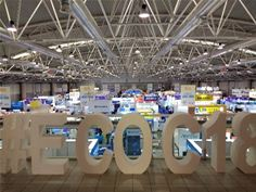 The 2018 ECOC Exhibition at the Fiera Roma, Rome, Italy