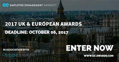 2017 UK & European Employee Engagement Awards