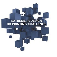 Extreme Redesign 3D Printing Challenge logo