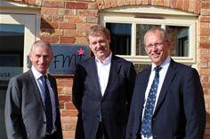 L-R: Chris Hartley, John Fisher, Chris Houghton