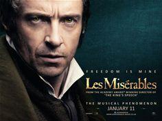 Hugh Jackman as Jean Valjean