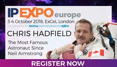 Chris Hadfield comes to IP EXPO Europe