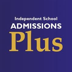 Independent School Admissions Plus Magazine logo