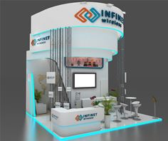 Infinet Wireless' Stand at Mobile World Congress 2020