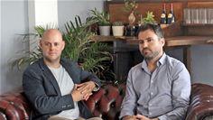 Founders Sascha Michel and Antony Iredale