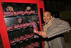 KitKat Human Vending Machine