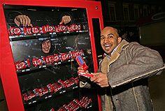 KitKat Human Vending Machine
