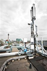Vodafone has installations in larger German cities; © Vodafone