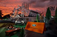 Land Rover unveils the New Discovery at launch event at Packington Hall, Solihull UK, alongside world record breaking LEGO structure of London's Tower Bridge