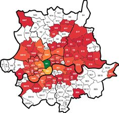 London Heatmap
