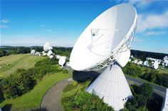 Media Broadcast Satellite GmbH's Teleport in Usingen, Germany
