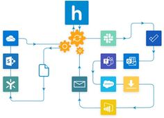 Huddle announces new Connector for Microsoft Power Automate - making it easy for users to create their own workflows and automations across their enterprise apps