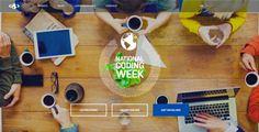 National Coding Week website