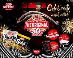 50 years of Nissin Cup Noodles