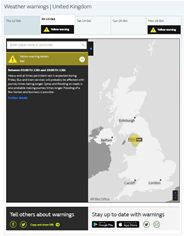 National Severe Weather Warning System