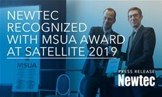 Newtec Recognized with MSUA Award