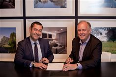 Paul Eccleston, CEO of Nuvias and Jerome Jullien, VP Partners and Alliances, Global Enterprise & Public Sector, Nokia