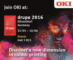 OKI Europe drupa 2016