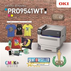 OKI Europe's Pro9541WT awards