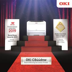 OKI C844dnw Retail Award