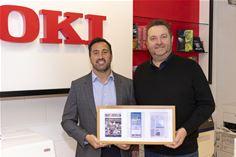 OKI Europe SENDYS Award Print.IT Reseller