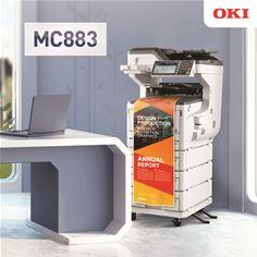 MC883 A3 MFP Office Lifestyle