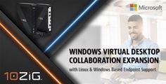 10ZiG Technology supports Microsoft Windows Virtual Desktop
