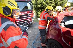 Cambridgeshire Fire and Rescue Service equipped with Panasonic rugged tablets