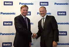 Serge Van Herck (Newtec) and Paul Margis (Panasonic Avionics Corporation)
