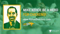 Mike Kehoe, seja um herói