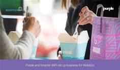 Purple and Smarter WiFi stir up business for Wok&Go