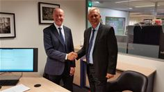 Diccon Grayling, Macro 4 Partner Manager and David Wheeler, CEO of RBC Group