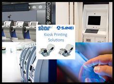 New Sanei kiosk printers from Star Micronics