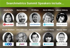 Speakers at Searchmetrics Summit in London