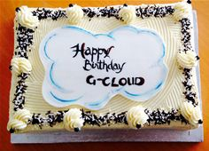 Skyscape G-Cloud cake