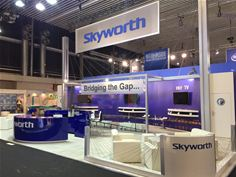 Skyworth Digital's stand at IBC 2016
